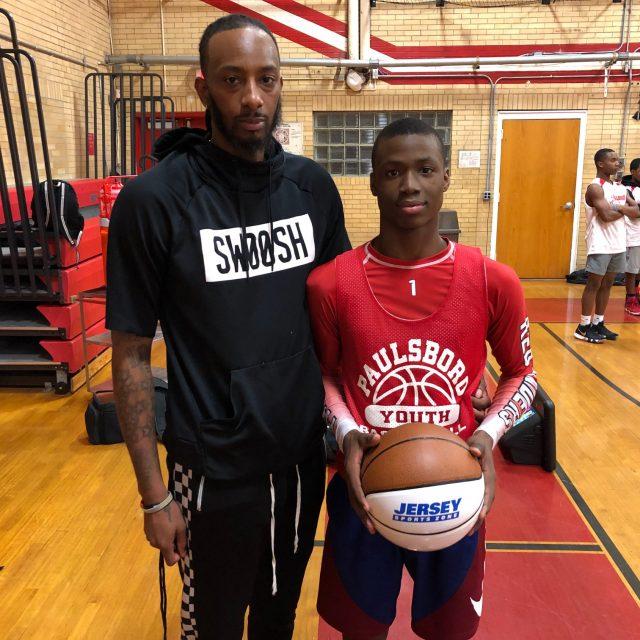 Paulsboro's Keyshun Sanders wins NJM Insurance South Jersey Game Ball!