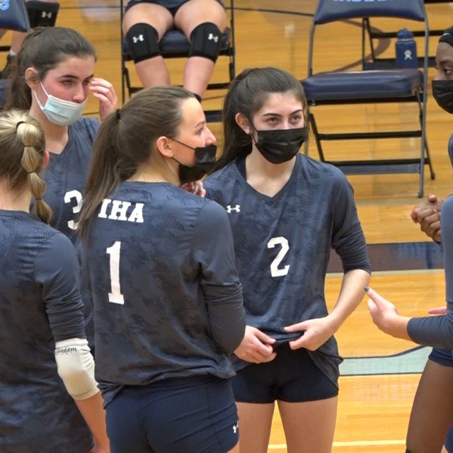 Immaculate Heart Volleyball Powers Through Wayne Valley