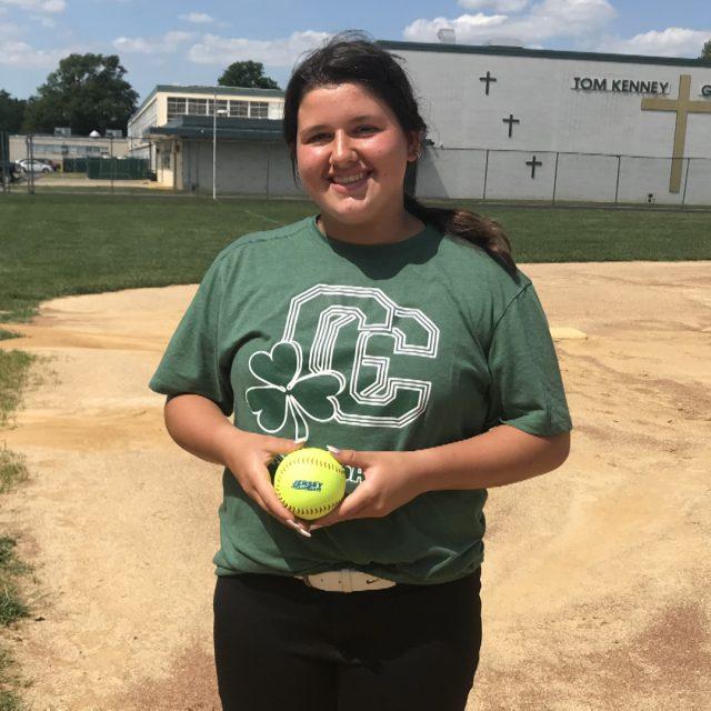 Karcher Earns South Jersey Softball Game Ball