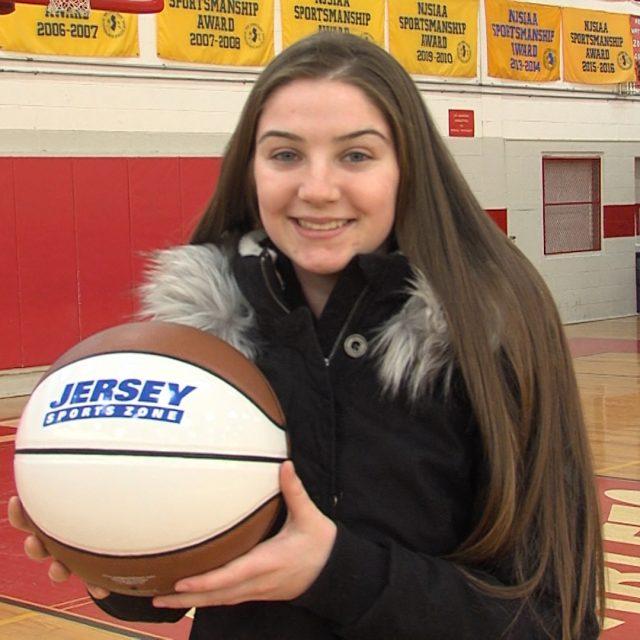 Ridgefield Park's Trisha Tellian Wins JSZ North Jersey  Game Ball