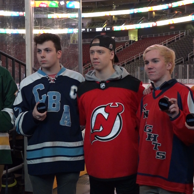 NJ Devils honor JSZ Top Goals from January at the Rock