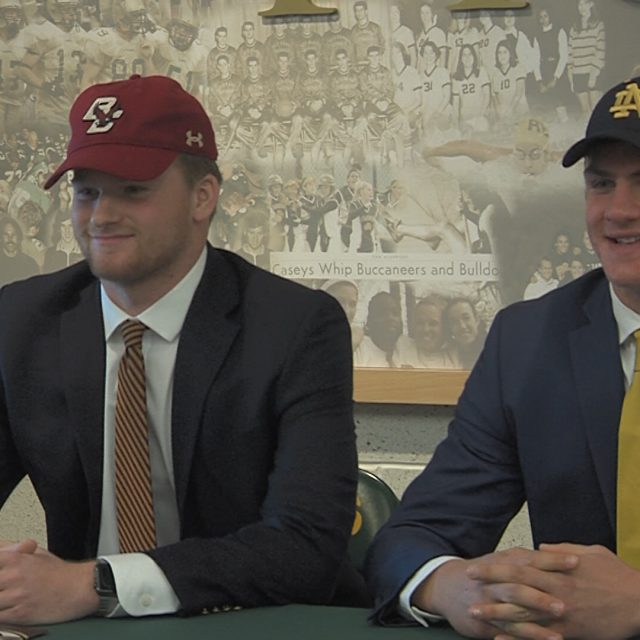 Football Early Signing Day has dozens of JSZ All-Zoners sign to play college football