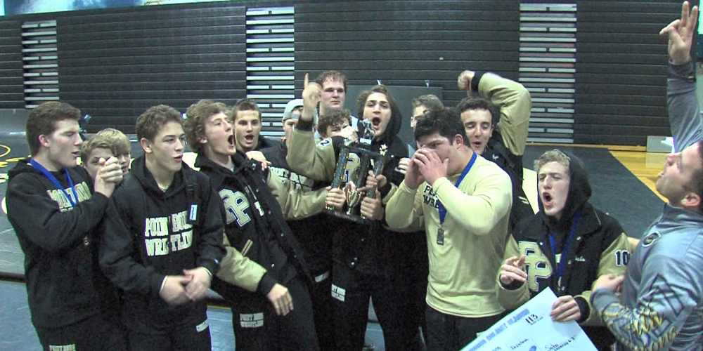 Watch wrestling tournament highlights from Middletown and Holmdel