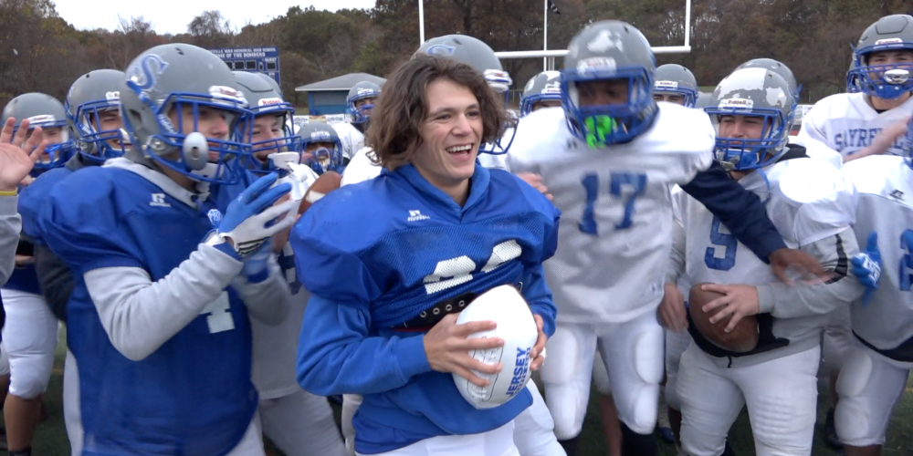 Connor Holmes Wins Alex's Week-10 Game Ball   151 Yards & 2 TD's vs Colonia – Watch Presentation