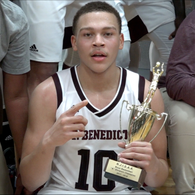 Sharp Shooting CJ WiIcher Leads St. Benedict's to 4th Straight Prep-A Championship – Watch Highlights