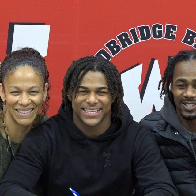Woodbridge's Ali Lee Jr. Signs With Stony Brook Football