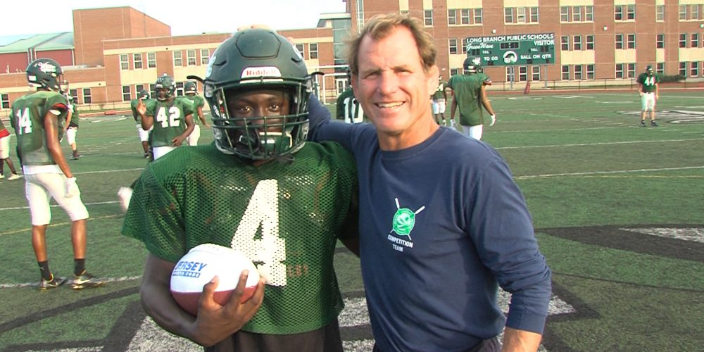 Game Ball Tour stops in Long Branch to honor sophomore