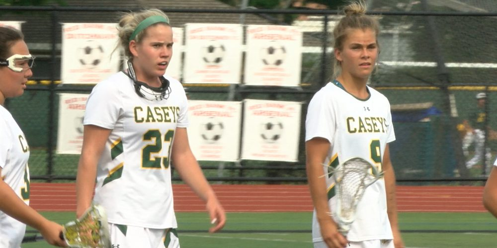Caseys get career highs from D1 duo to cruise in girls lax opening round