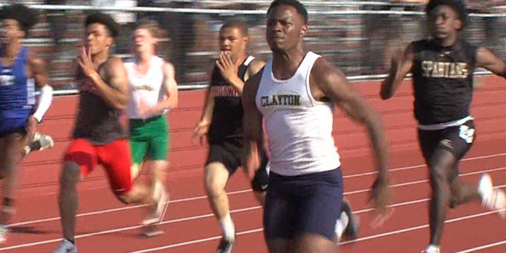 Clayton Cleans Up at TCC Championships