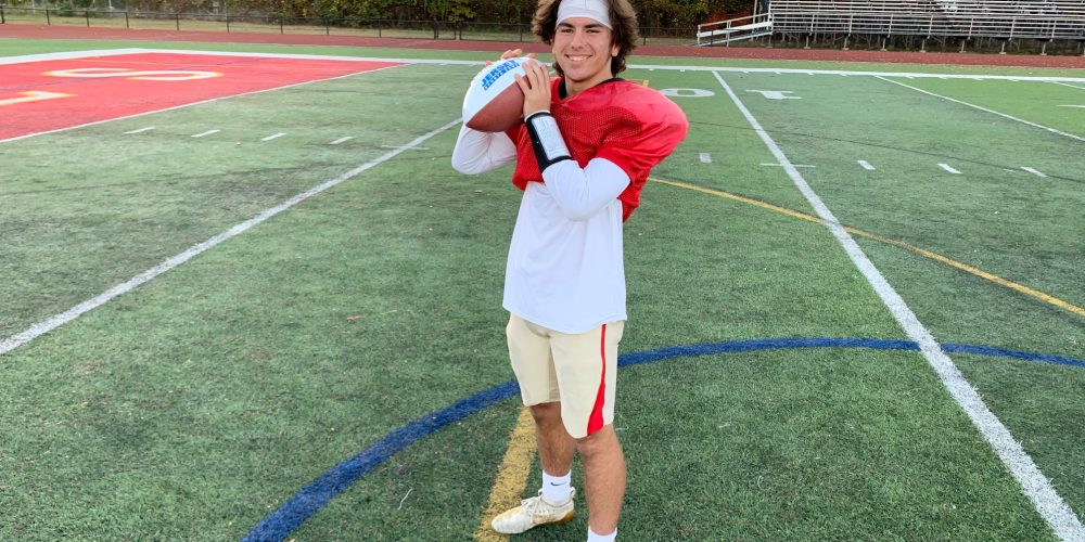 Matt Yascko of Edison takes home Central Jersey Week 6 Game Ball!