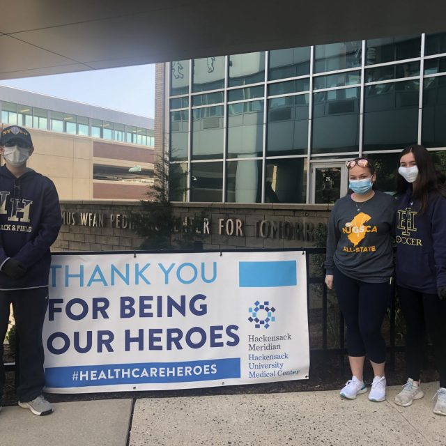 How North Jersey Athletes Are Giving Back During COVID-19 Pandemic
