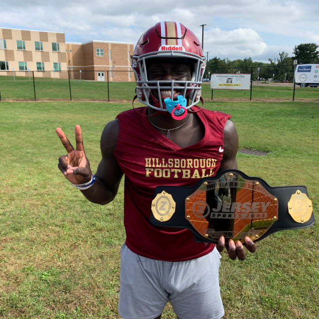 Tommy Amankwaa of Hillsborough Takes Home Week Two Top Play Belt