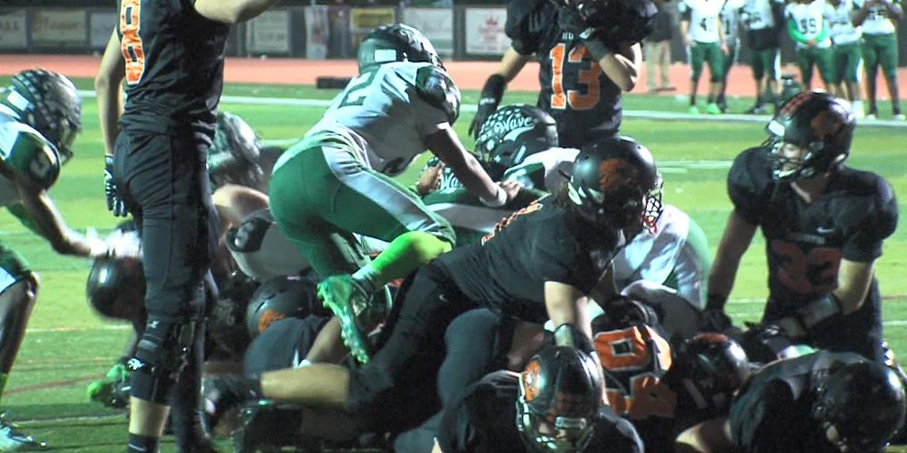 Watch Long Branch 28 Middletown North 21 Week 8 highlights