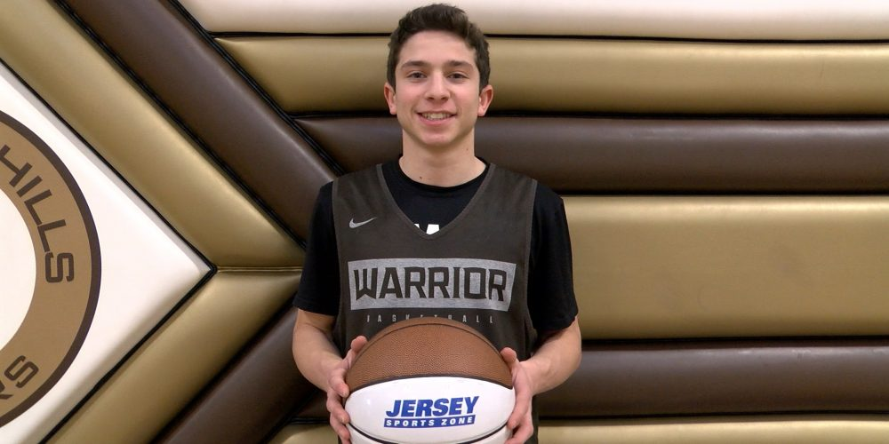 Mikey Bressler Brings Home JSZ North Jersey Game Ball Honors