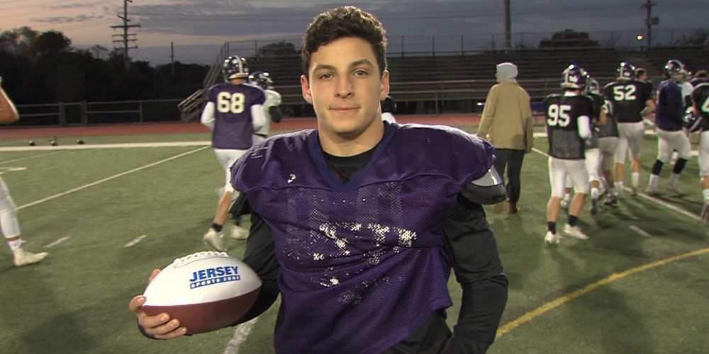 RFH's Pete Lucas wins Monmouth Building Center Game Ball for Week 8