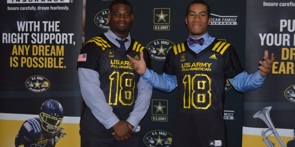 Saint Peter's Prep duo selected for US Army All-American Game