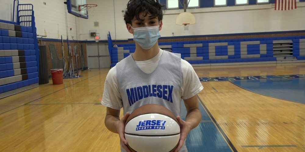 Michael Salvatore takes home Boys Central Game Ball