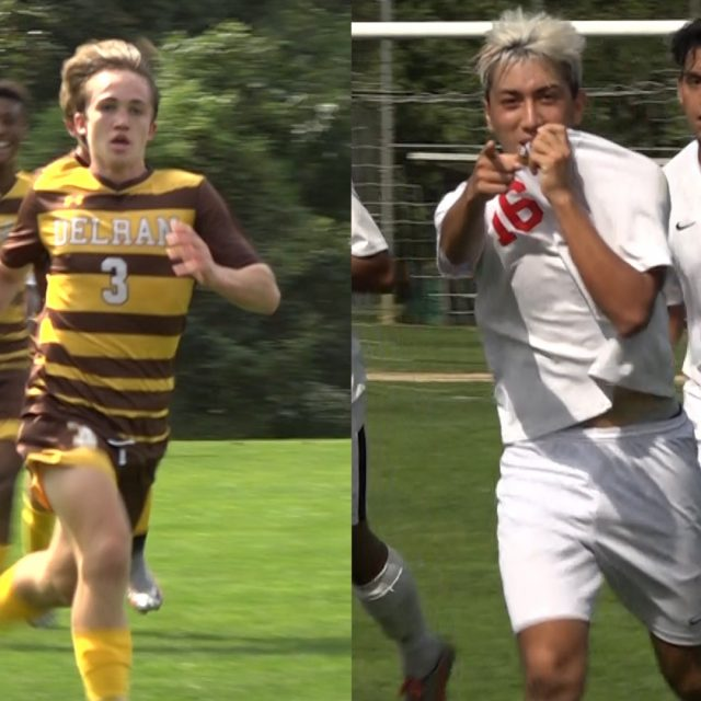 Kearny and Delran battle to a draw at The Den