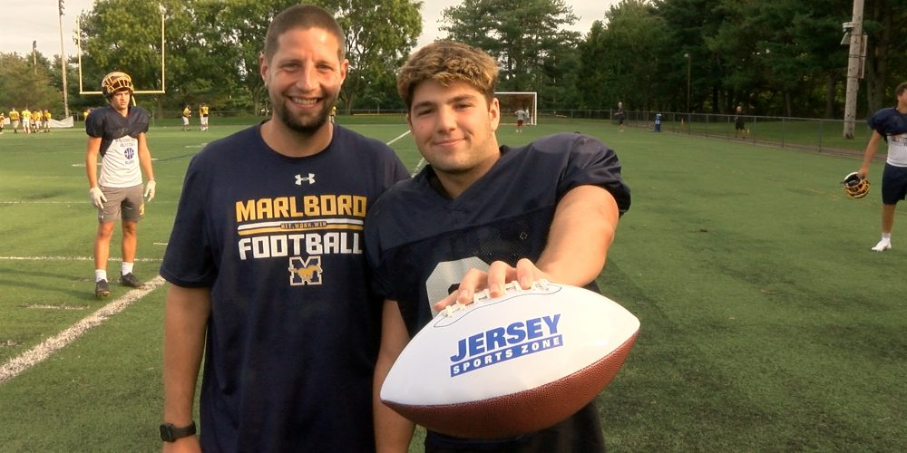 Marlboro's Mendes wins Central Jersey Week 2 Game Ball