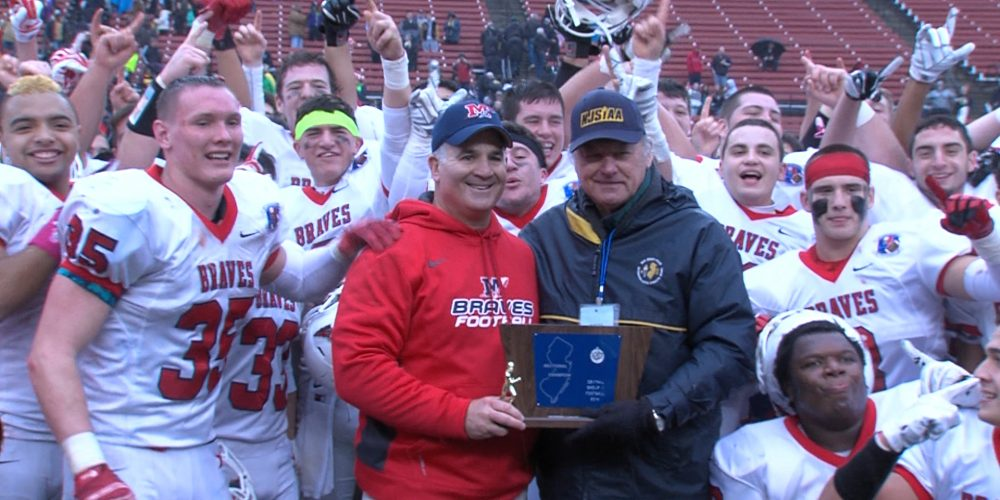 Manalapan earns first football state title!