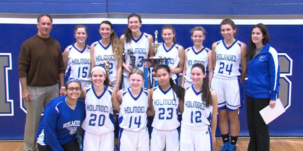Holmdel girls win Bayshore Invitational