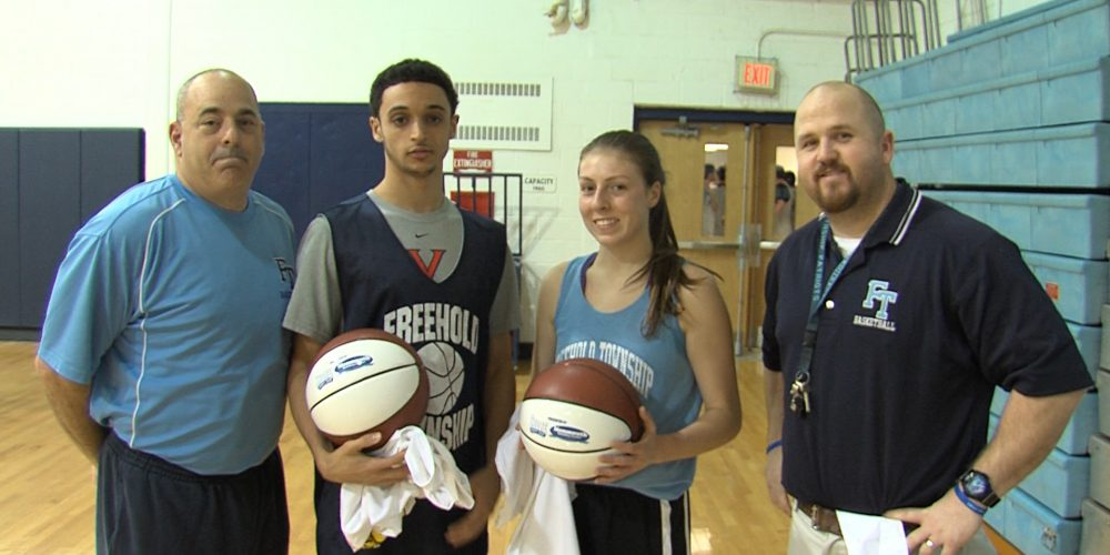 Freehold Township sweeps Game Balls