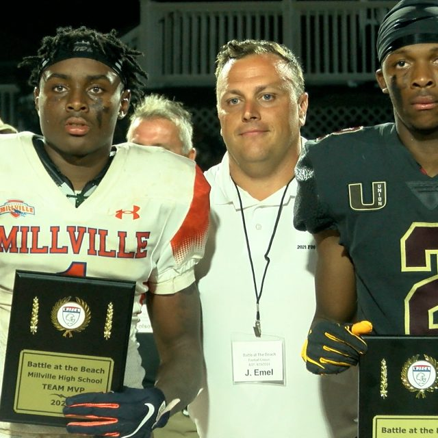 """Millville Sends Message, Downs Union at """"Battle at the Beach"""""""