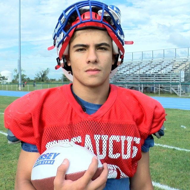 Marzouk's Monster Day Yields JSZ Game Ball