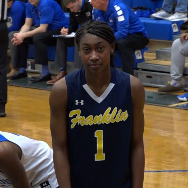 Diamond Miller keeps Franklin perfect on the year!