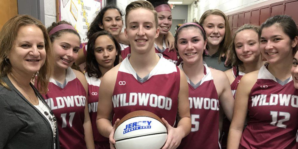 Wildwood's Winter Favre Wins NJM Insurance South Jersey Game Ball
