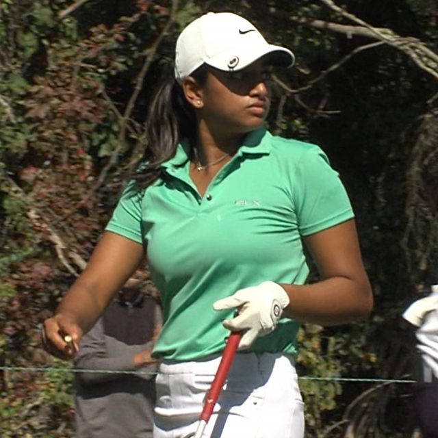 Ganne Plays with the Pros at ShopRite LPGA Classic