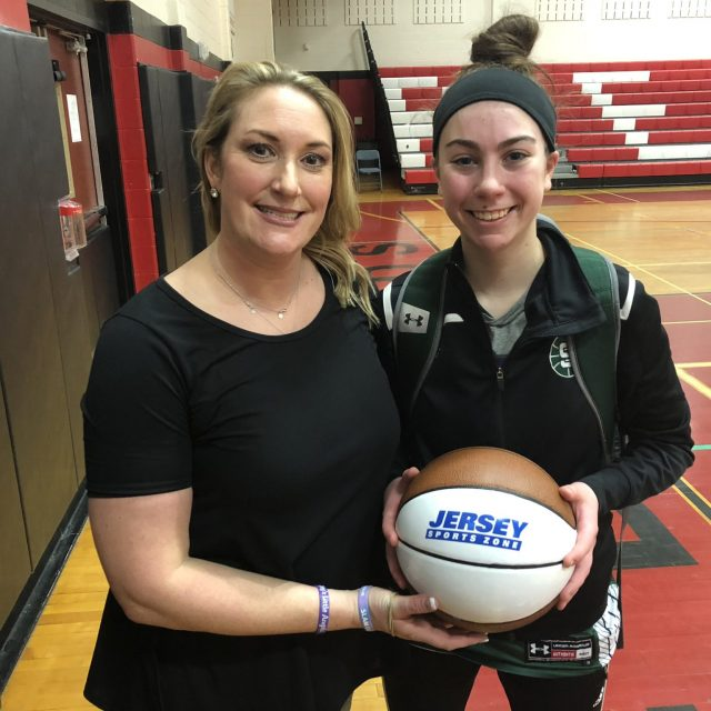 Steinert's Natalie Mehl takes home Nery's Game Ball