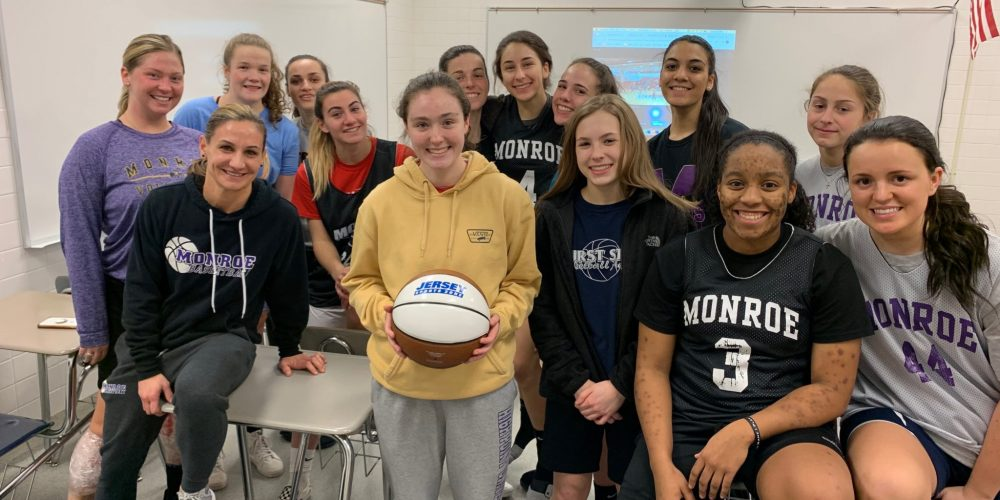 Monroe's Madison Carey soars in polls to take home ACI Central Jersey Game Ball