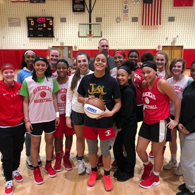 Lexy Linton of Rancocas Valley wins NJM South Jersey Game Ball!