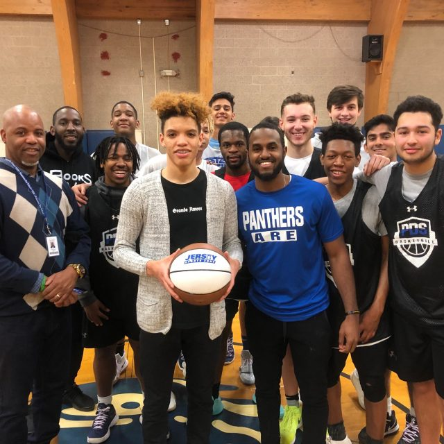 Princeton Day's Freddie Young Wins NJM South Jersey Game Ball