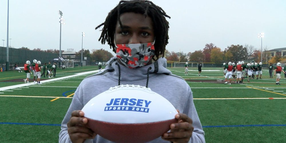 DePaul's A'khoury Lyde Wins JSZ North Jersey Game Ball