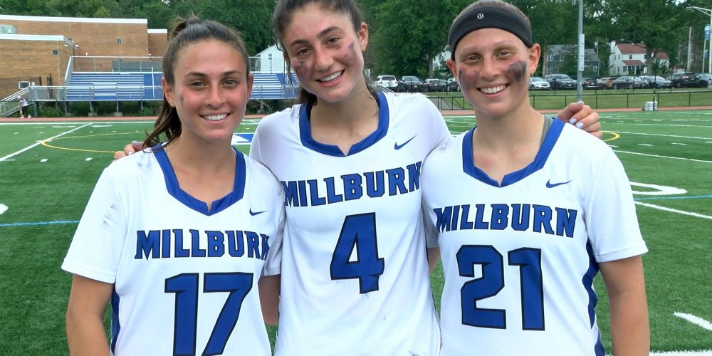 """Millburn """"Triplets"""" Score in Bunches, Advance in States"""