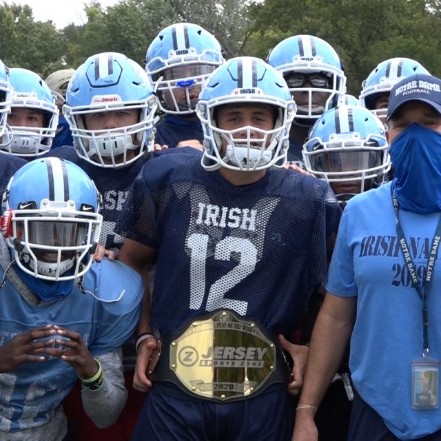 George Chrissafis of Notre Dame Wins Week One Top Play Belt