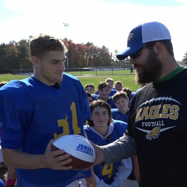Pennsville's Nick Bard takes home WJFL Week 9 game ball