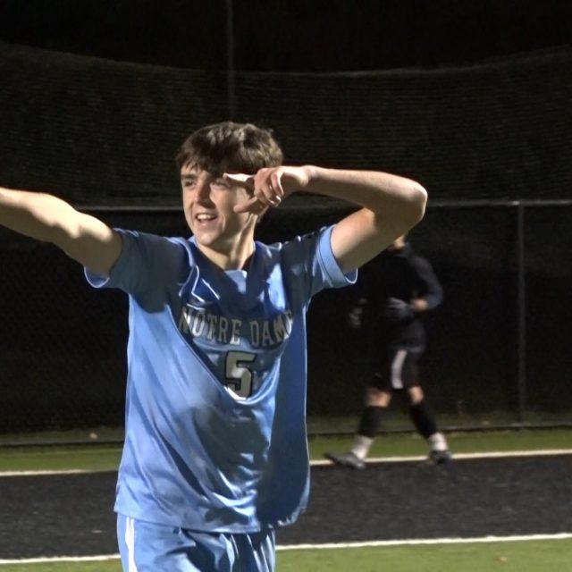 PK's send Notre Dame to Mercer County Tournament Final