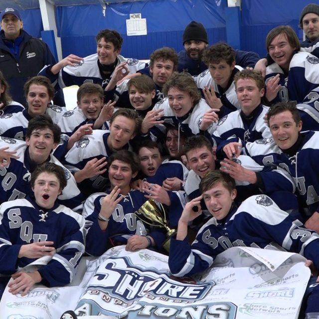 Watch Thursday 2.20 JSZ Shore Conference Hockey Championship Highlights