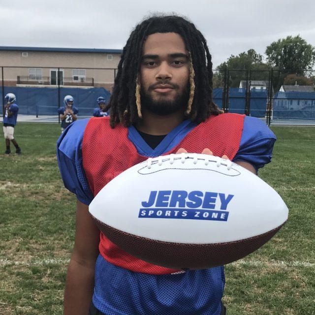 Sterling's Thompson Wins SJ Game Ball