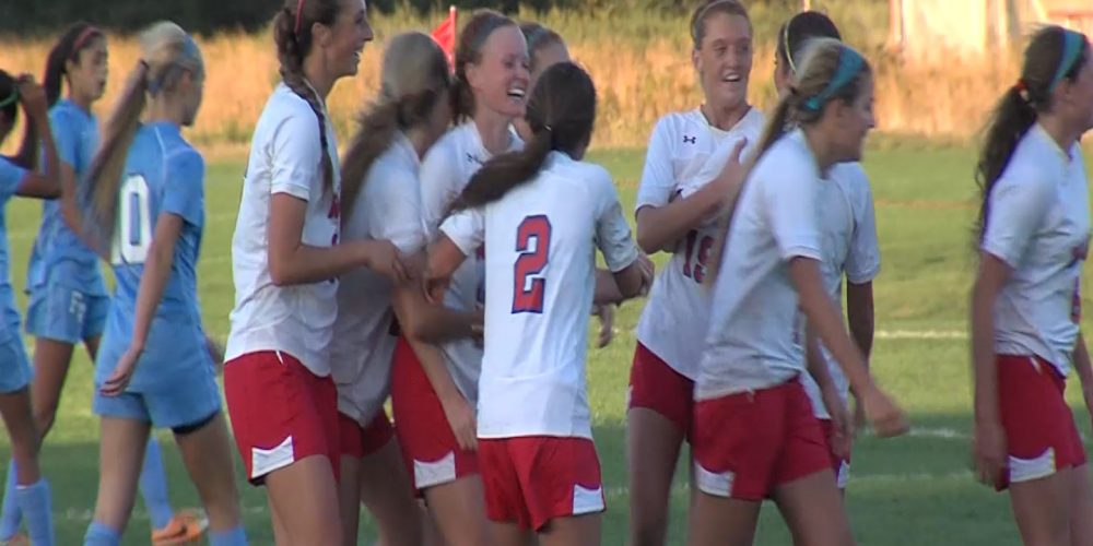 Wall girls soccer on 5 game win streak
