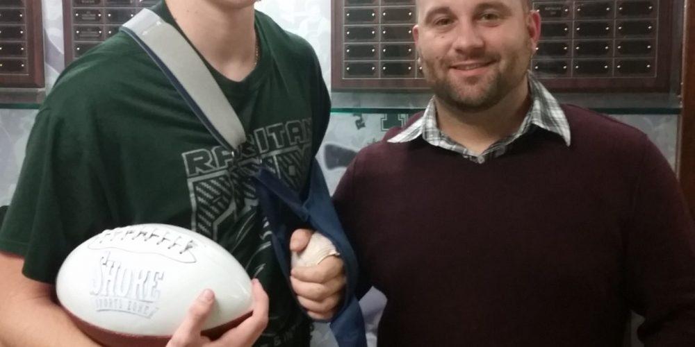 Colby Jones wins final SSZ Game Ball of 2014