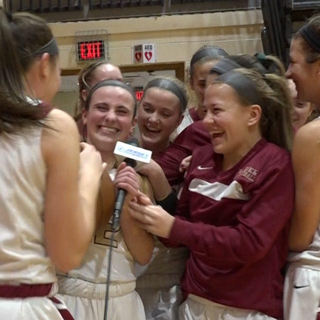 Hillsborough's Dani Pescatore Wins the Girls Mid-State Game Ball