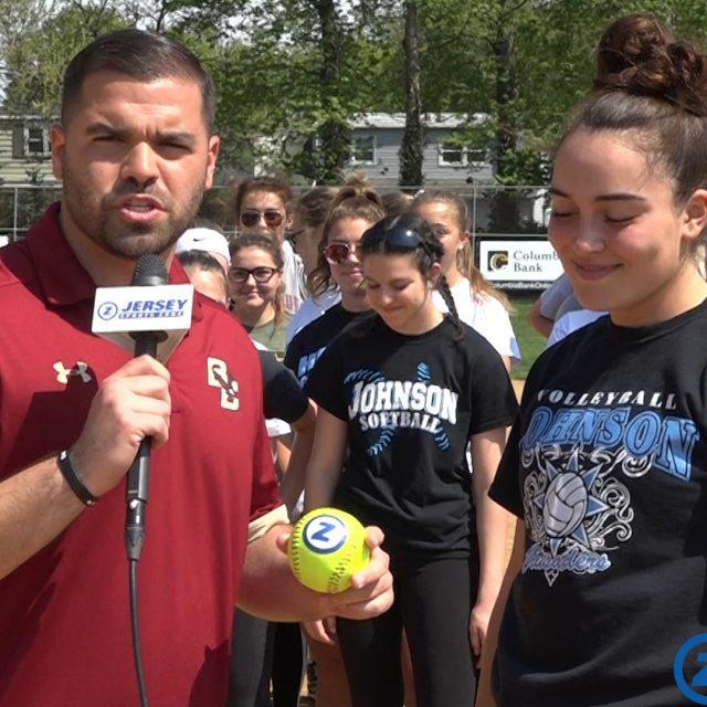 Johnson's Victoria Zatko is a Mid-State Game Ball Winner!