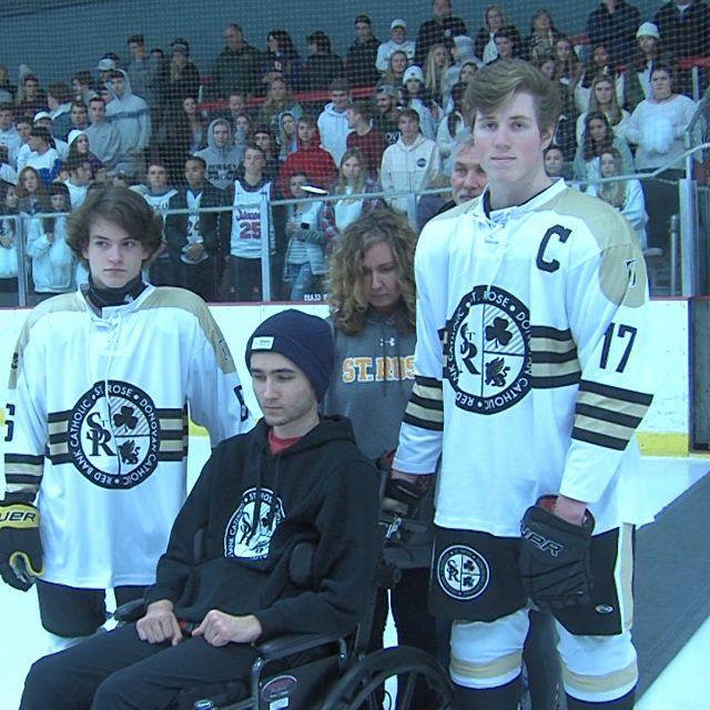"Saint Rose Hockey hosts special night for ""Samvincible"""