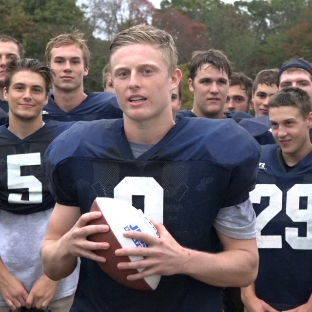 Del Val's Tyler Neal Wins Courtney's Week 5 Game Ball