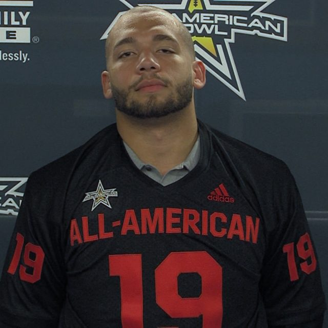 Alabama Commit Antonio Alfano's 2019 All-American Jersey Presentation