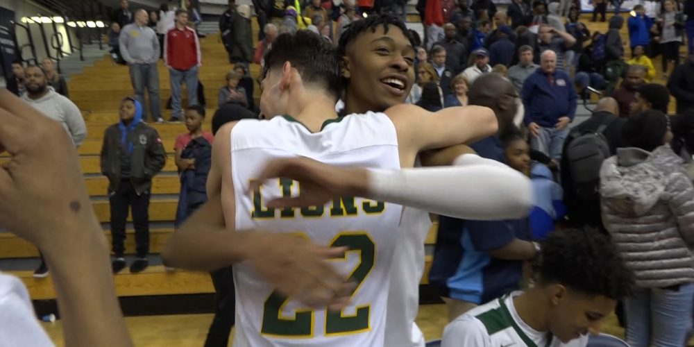 Colby Rogers of Roselle Catholic Joins 1,000 Point Club!